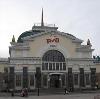 Железнодорожные вокзалы в Окуловке